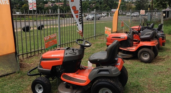 Ride-on's serviced by Tip Top Lawnmowers